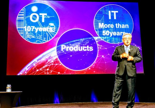 היטאצ'י: חברה עם 50 שנות IT ו-107 שנות oT וסל פתרונות. צילום: פלי הנמר
