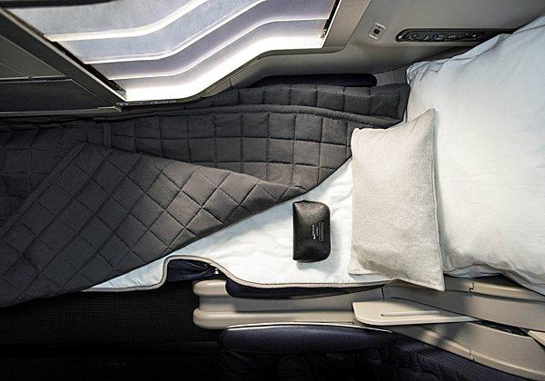 הכי חשוב המושב, שהופך למיטה שטוחה ומפנקת. צילום: בריטיש איירווייס