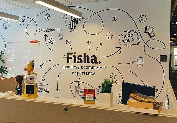 העיצוב החדשני ניכר בכל פינה במשרדים החדשים של אלעד מערכות. צילום: פלי הנמר