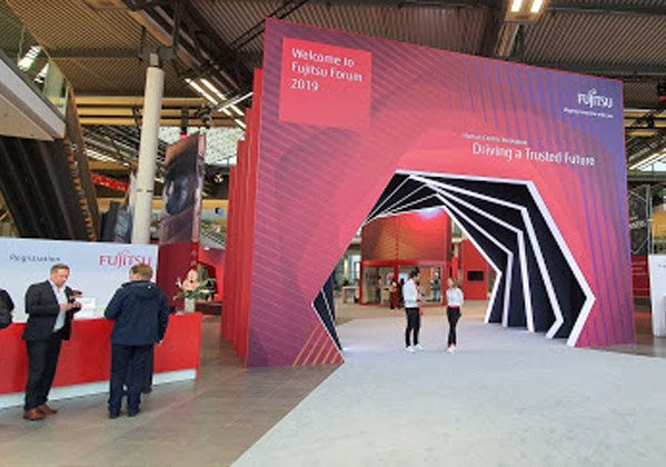 ברוכים הבאים ל-Fujitsu Forum 2019 במינכן. צילום: פלי הנמר