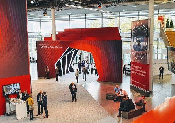 Fujitsu Forum 2019 במרכז הכנסים ICM של מינכן. צילום: פלי הנמר